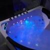 Wanna CL-3252 prostokątna 180cmx80cmx58cm chromoterapia z podgrzewaczem